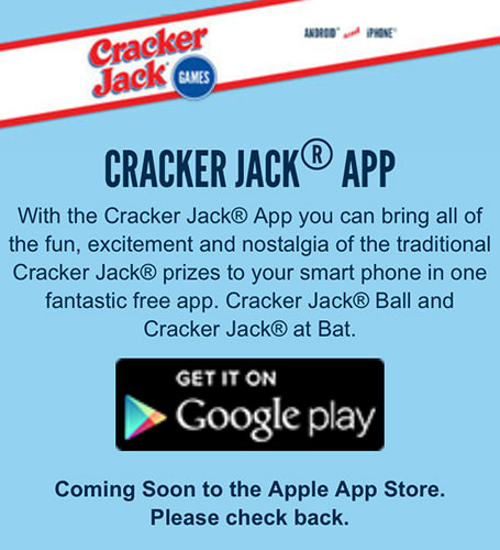 Cracker Jack Sucks