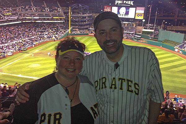Dave Becky PNC Park Pirates!