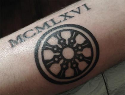 Dhamacakra Tattoo