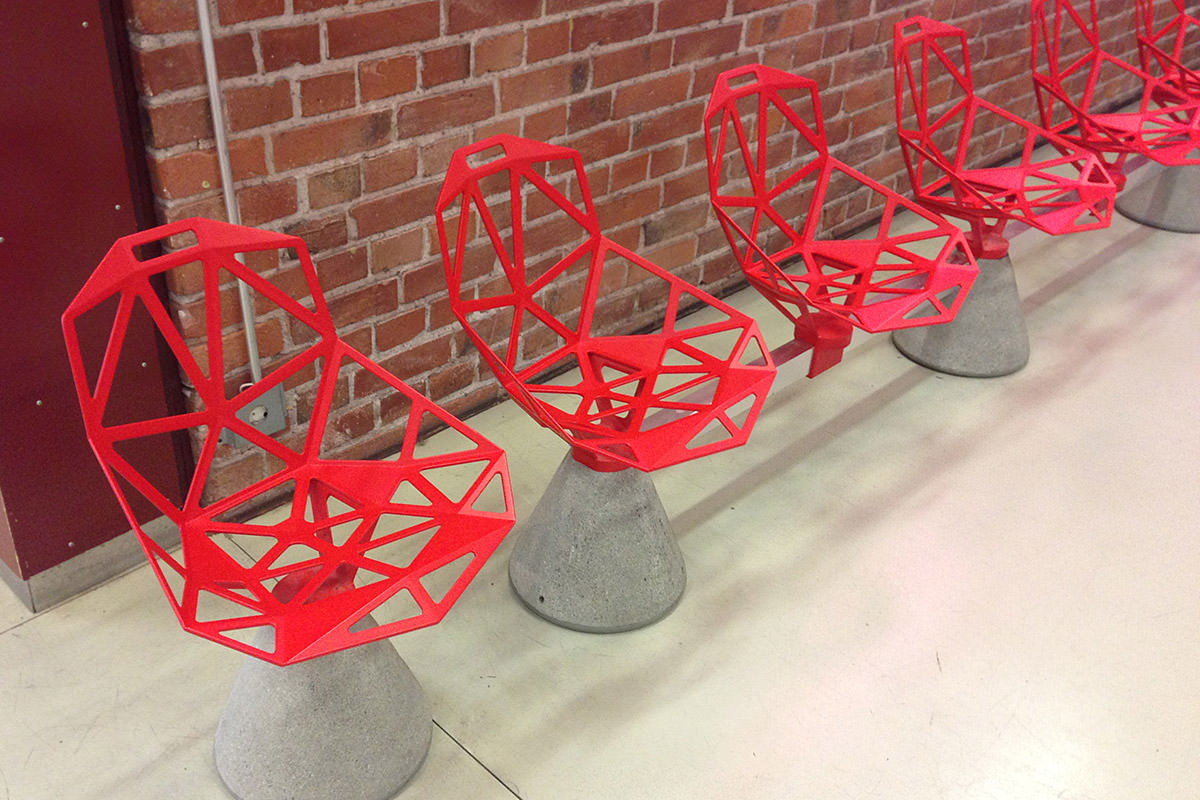 Helsinki Harbor West Terminal Chairs