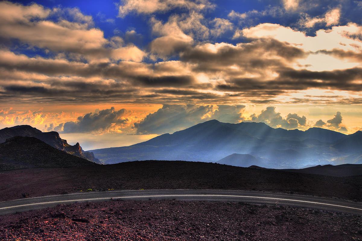 Haleakala Sunrise Rays