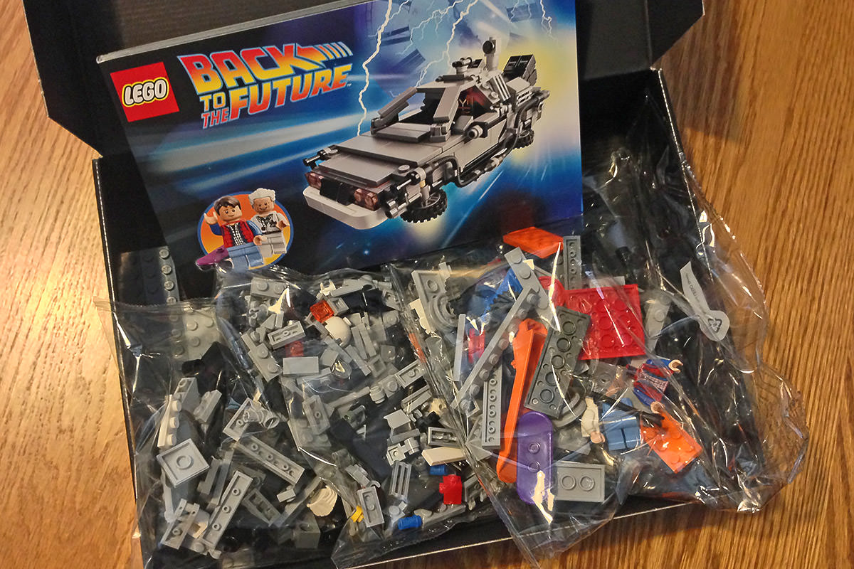 LEGO BTTF Set Pieces Cuusoo
