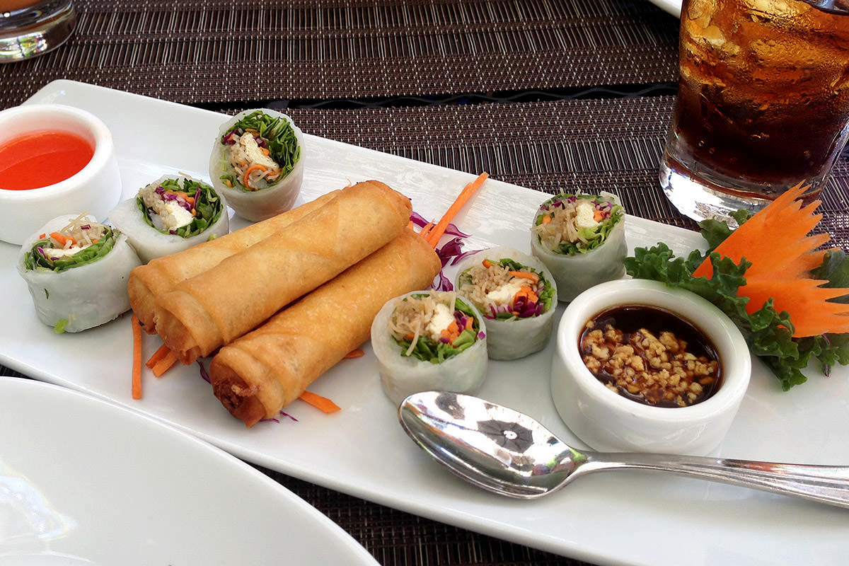 Nicky's Thai Kitchen Rolls