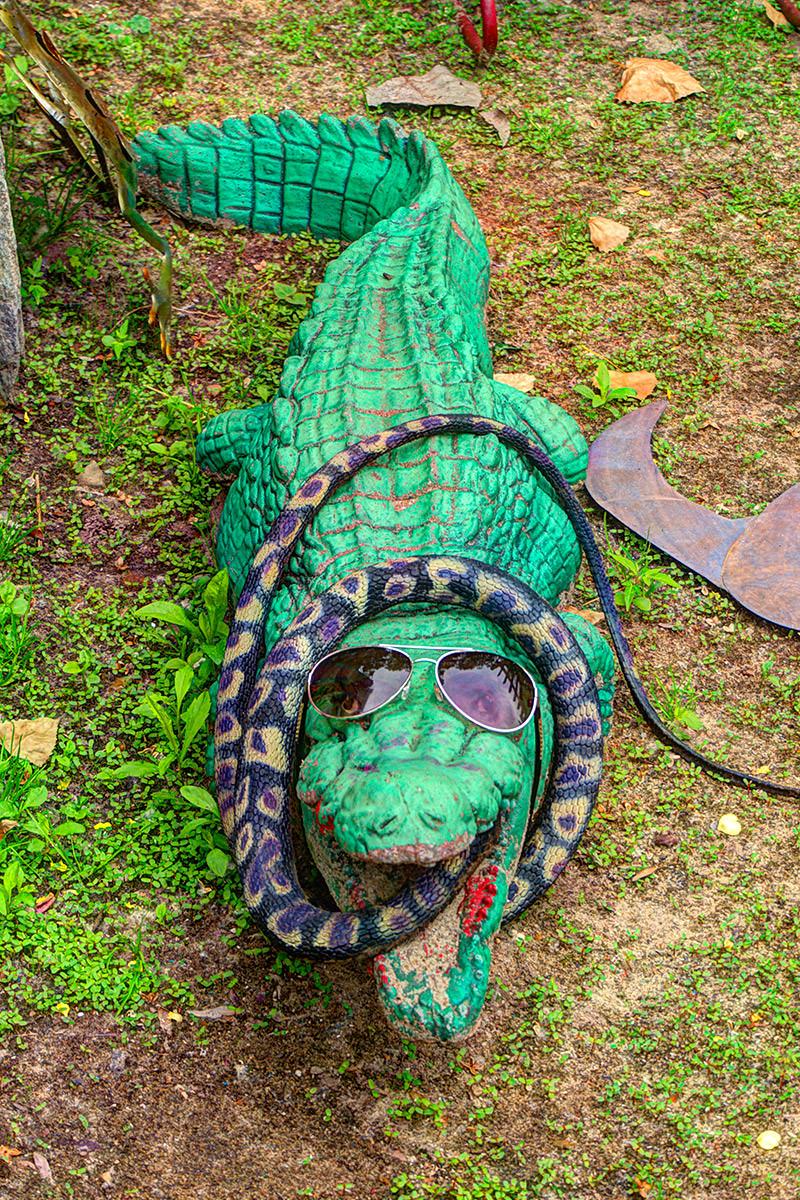 Randyland Gator and Snake