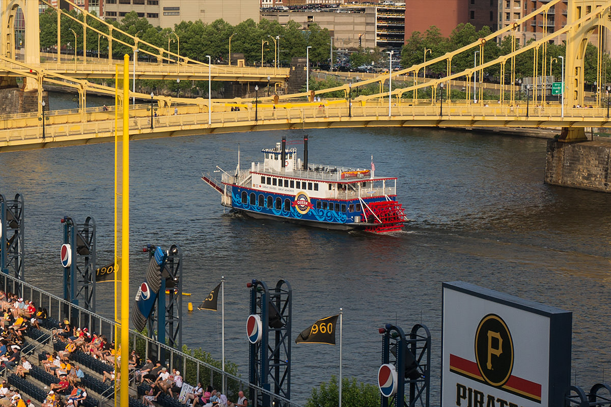 River Boat from PNC Park