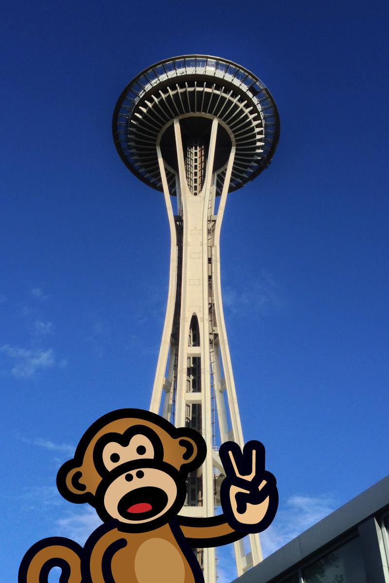 Bad Monkey Space Needle