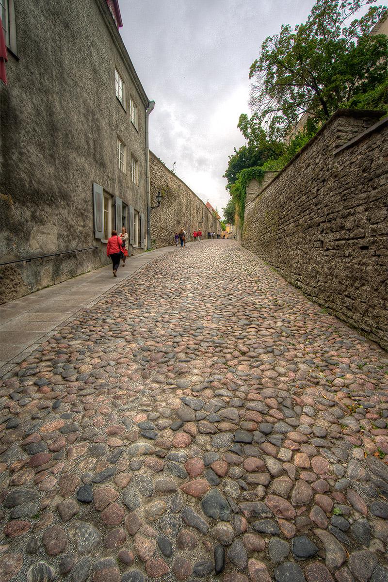 Tallinn stone Streets