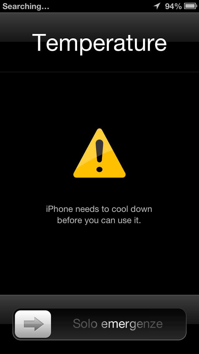 iPhone Too Hot!