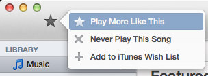 ITunes Radio Like