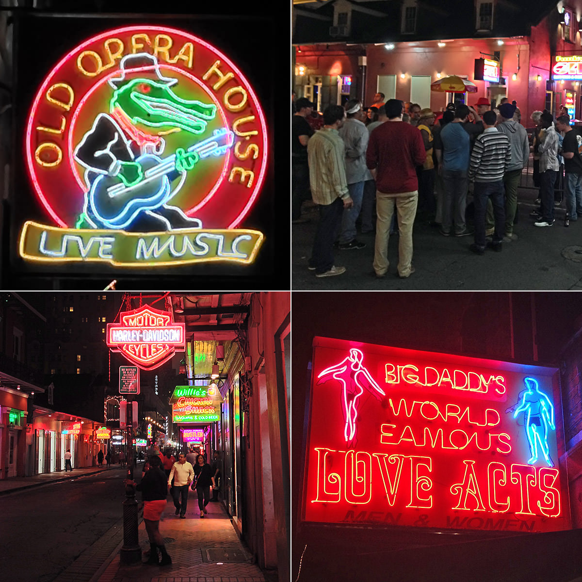 Bourbon Street Thursday