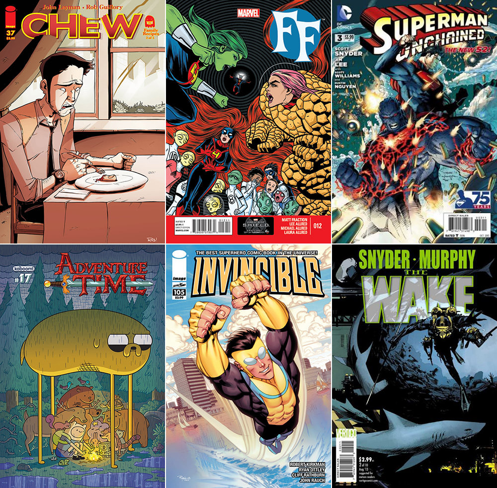 Best Comics 2012 Part 2