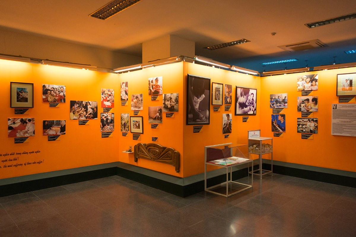 Remnants Museum on Agent Orange