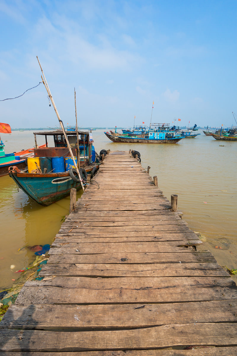 Dock in Hoi An, Vietnam