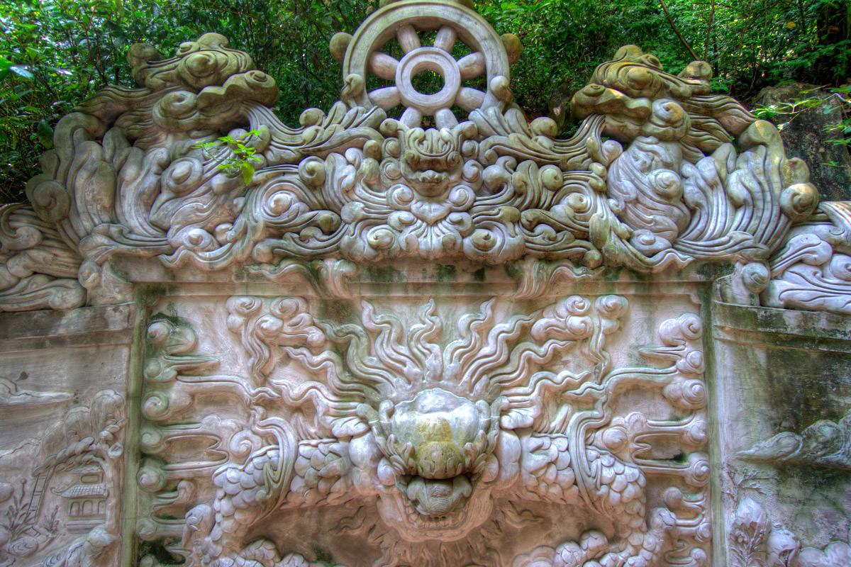 Marble Mountain Buddha Wheel Vietnam