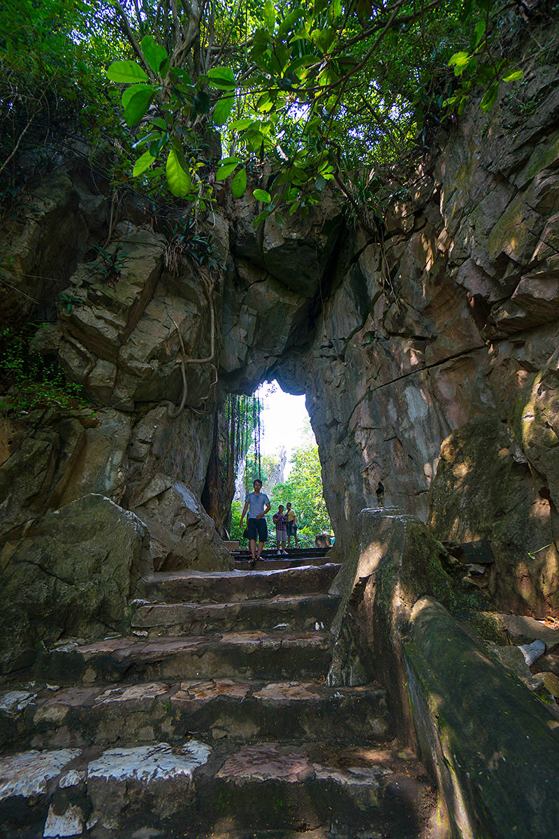 Marble Mountain Entry Way