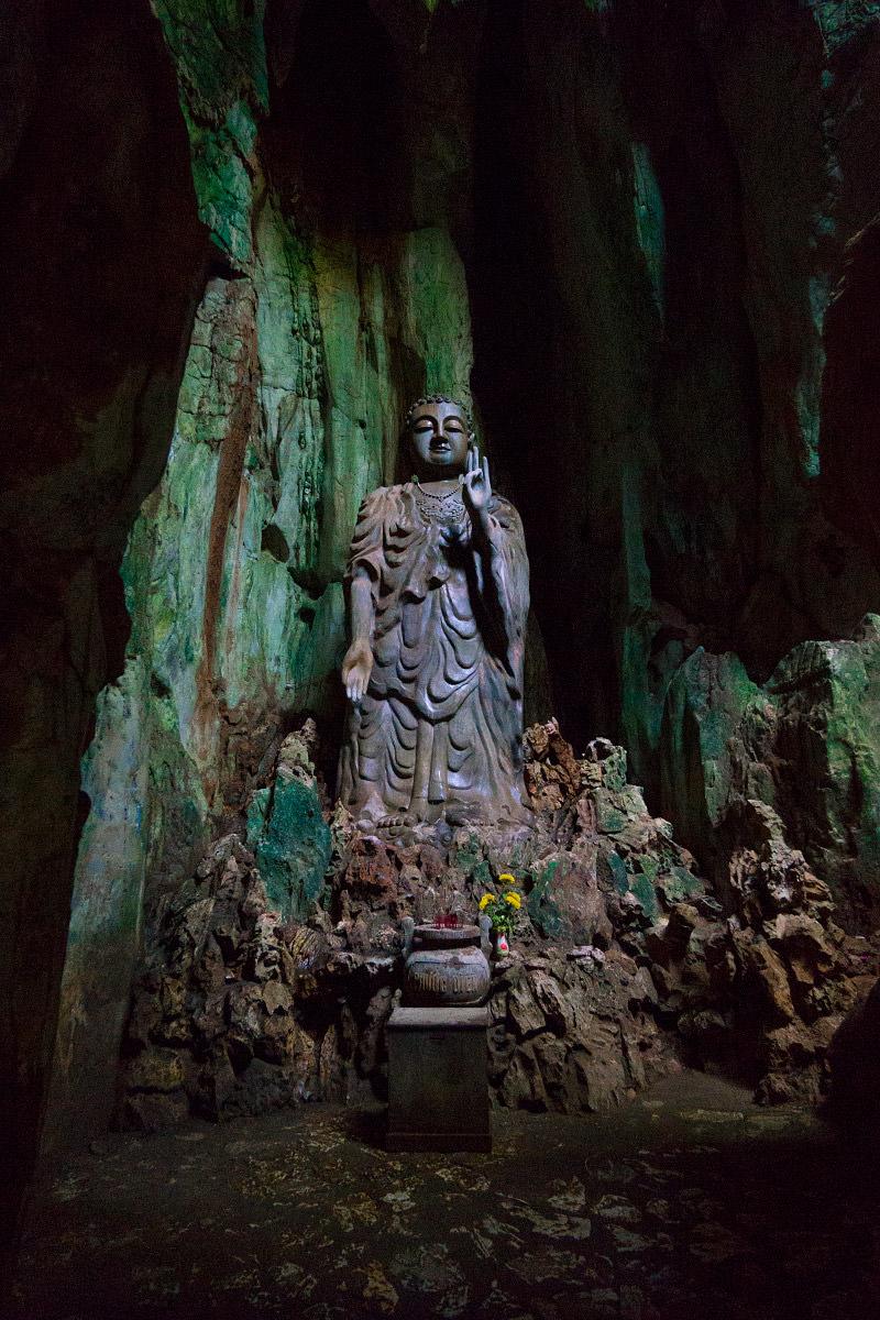 Marble Mountain Lucky Buddha