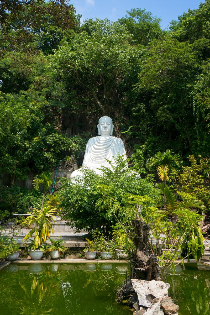 Marble Mountain White Buddha