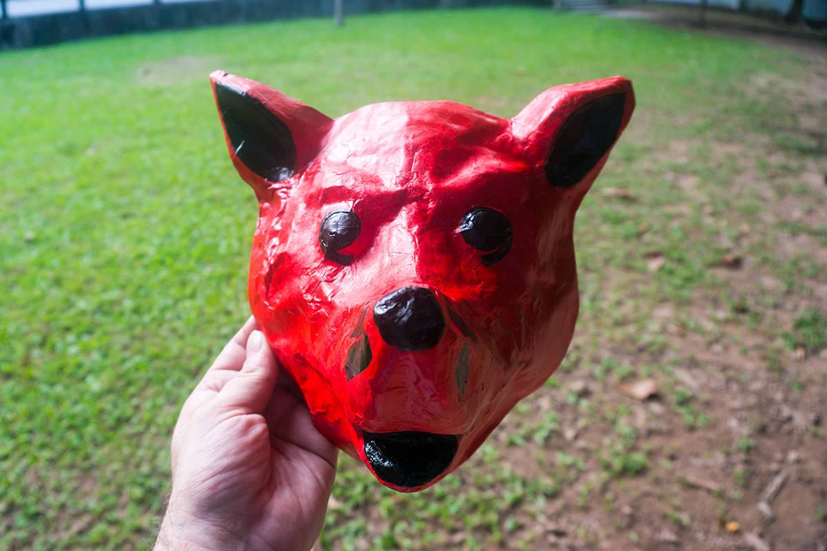 My Red Dog Vietnamese Mask