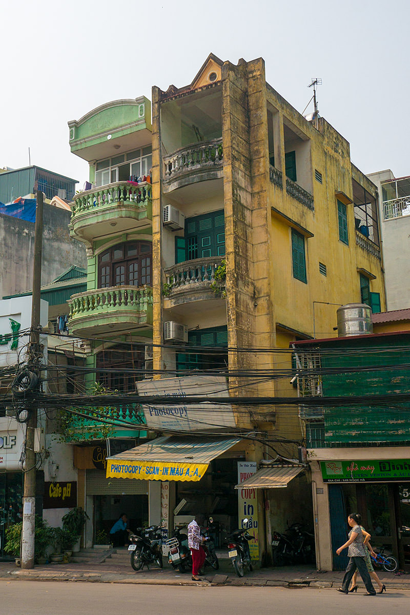Skinny Buildings of Hanoi