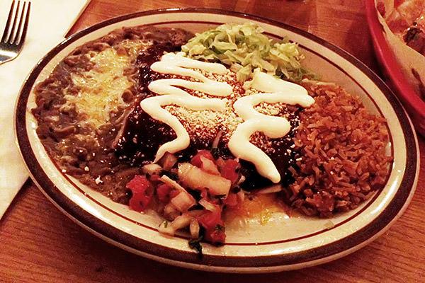 Enchiladas are Spicy