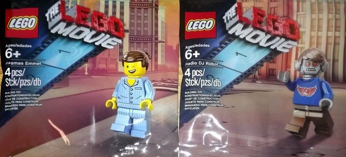 LEGO Movie AMC Exclusives
