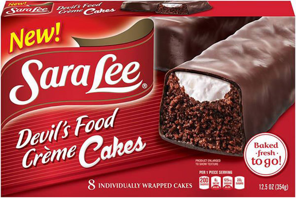Sara Lee Devil's Food Creme Cakes