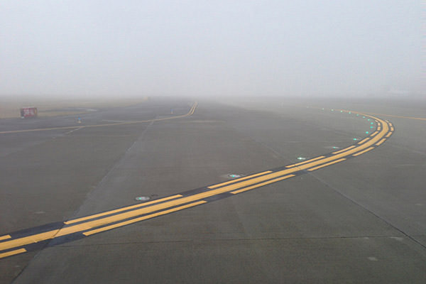 Seattle Airport Fog