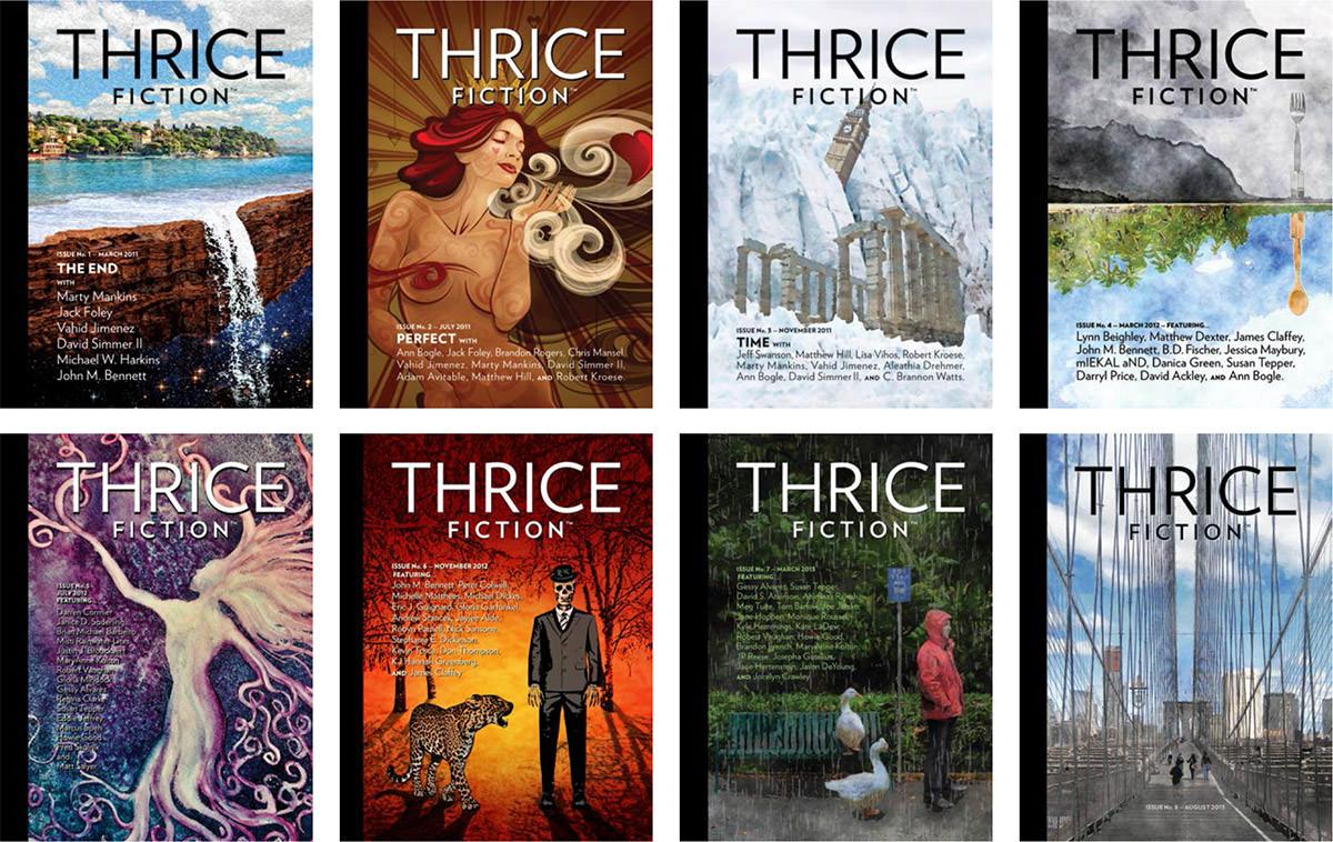 THRICE at THREE