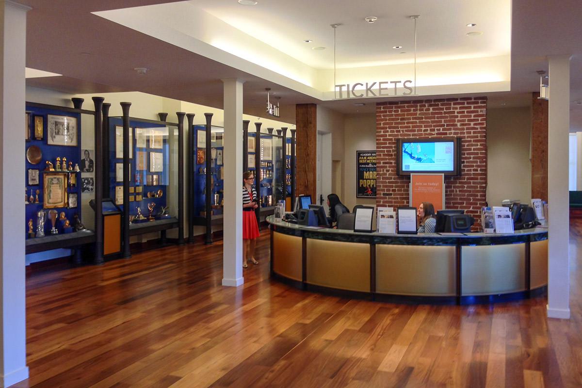 Walt Disney Family Museum Lobby