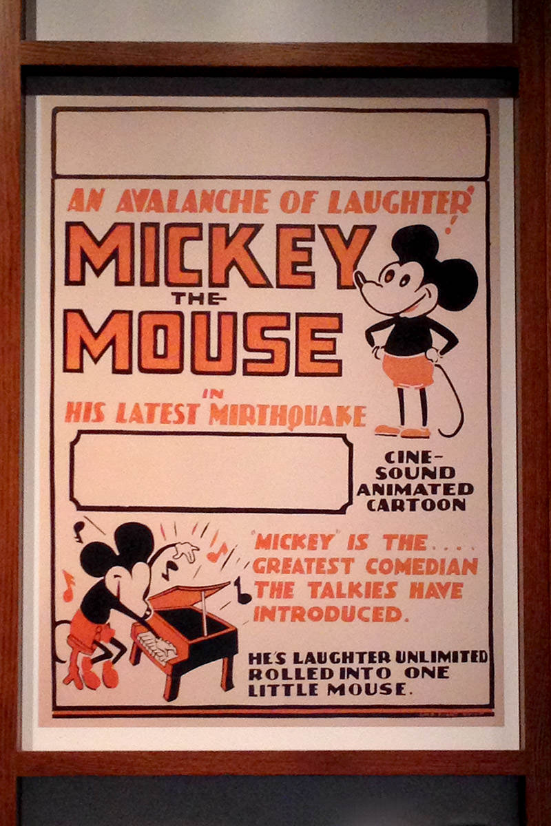 Walt Disney Family Museum Mickey Poster