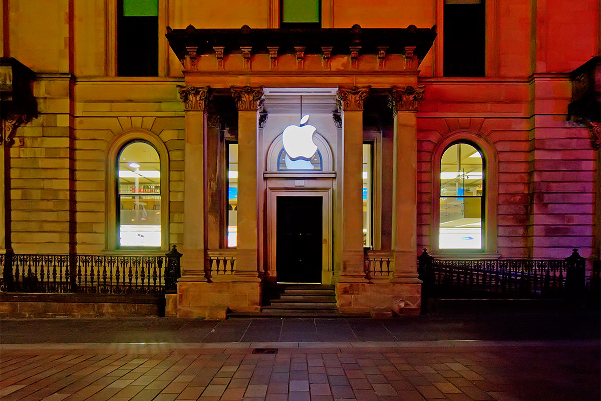 Apple Store in Glasgow, Scotland