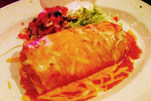 Cinco de Mayo Burrito!