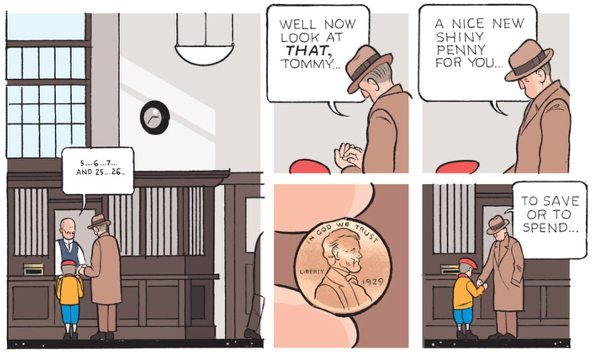 Chris Ware's Penny