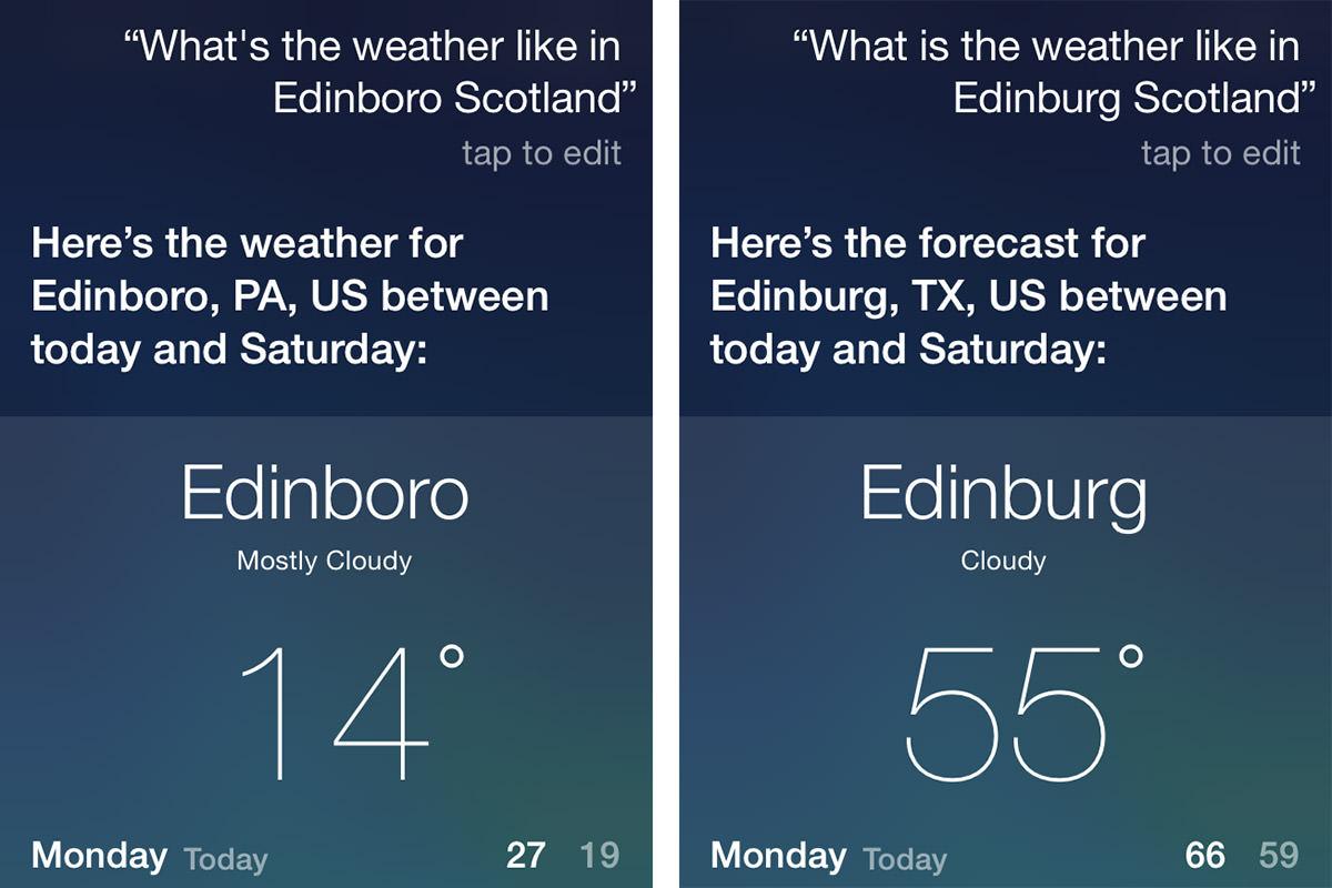 Stupid Siri