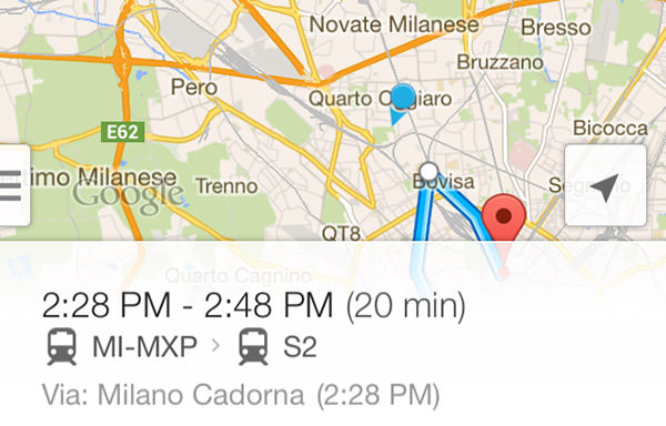 Google Maps FAIL Milan