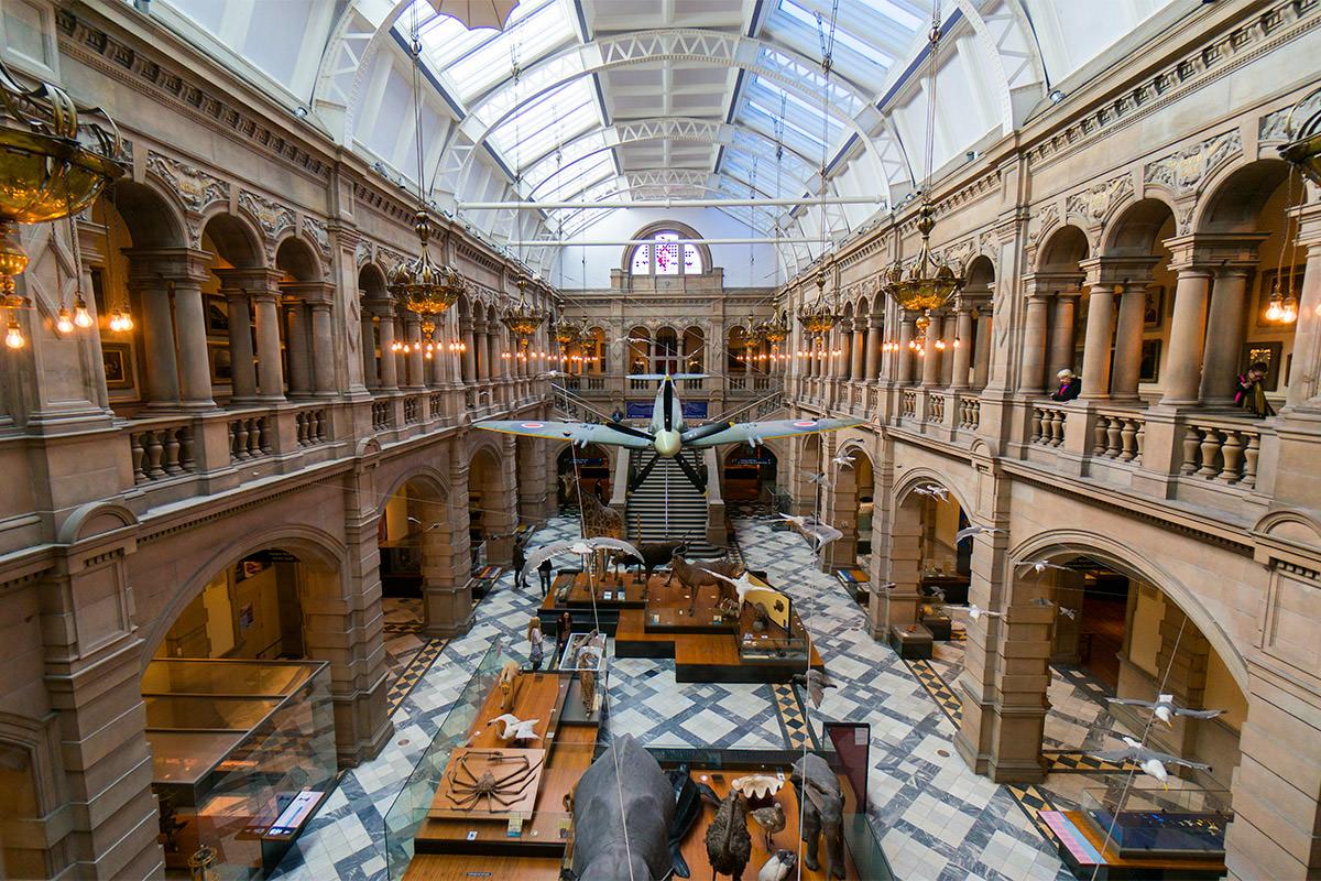 Kelvingrove Museum Glasgow, Scotland