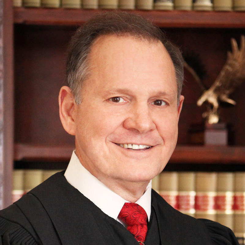 Judge Moore Piece Of Shit