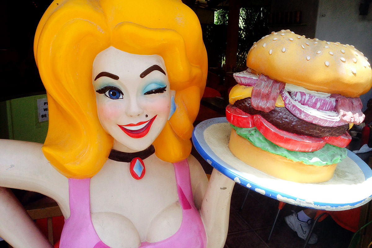 It's Hamburger Mary!