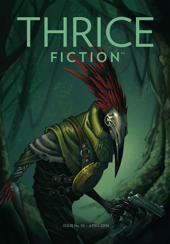 THRICE Fiction No. 10 Cover!