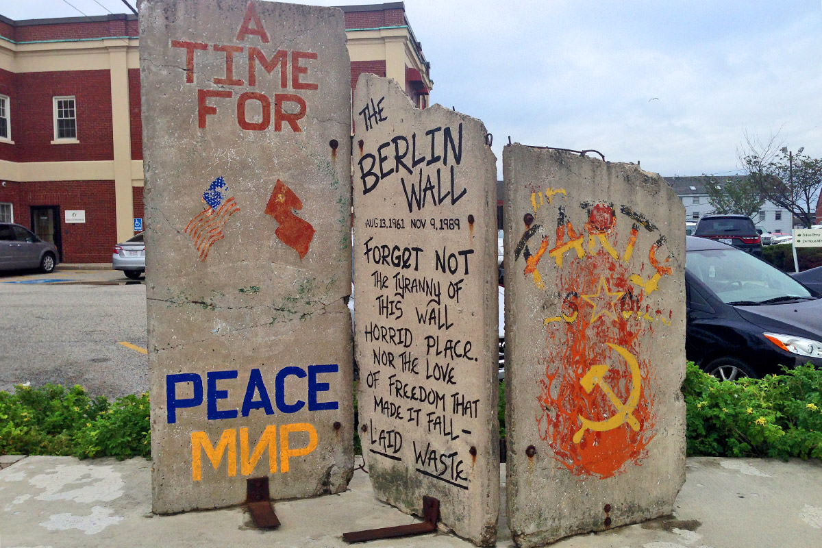 Berlin Wall in Portland, Maine