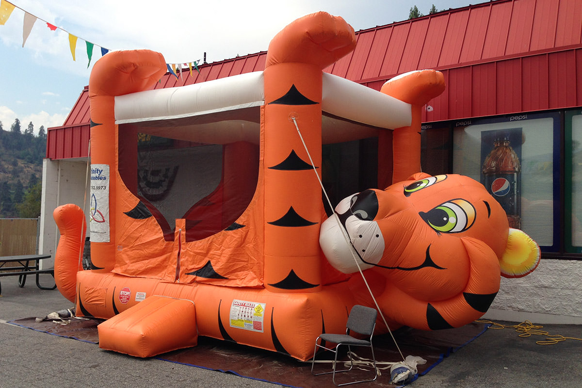 Tiger Bouncy House
