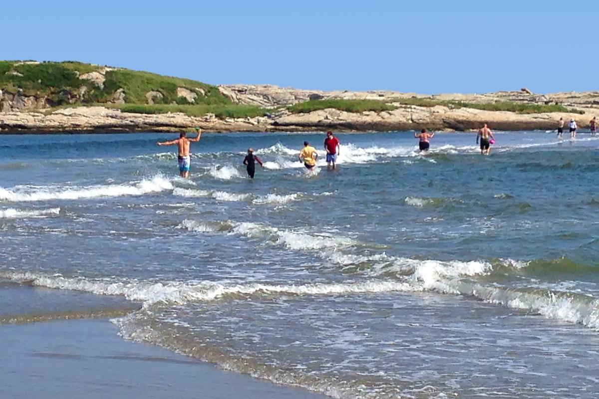 Popham Beach State Park Maine