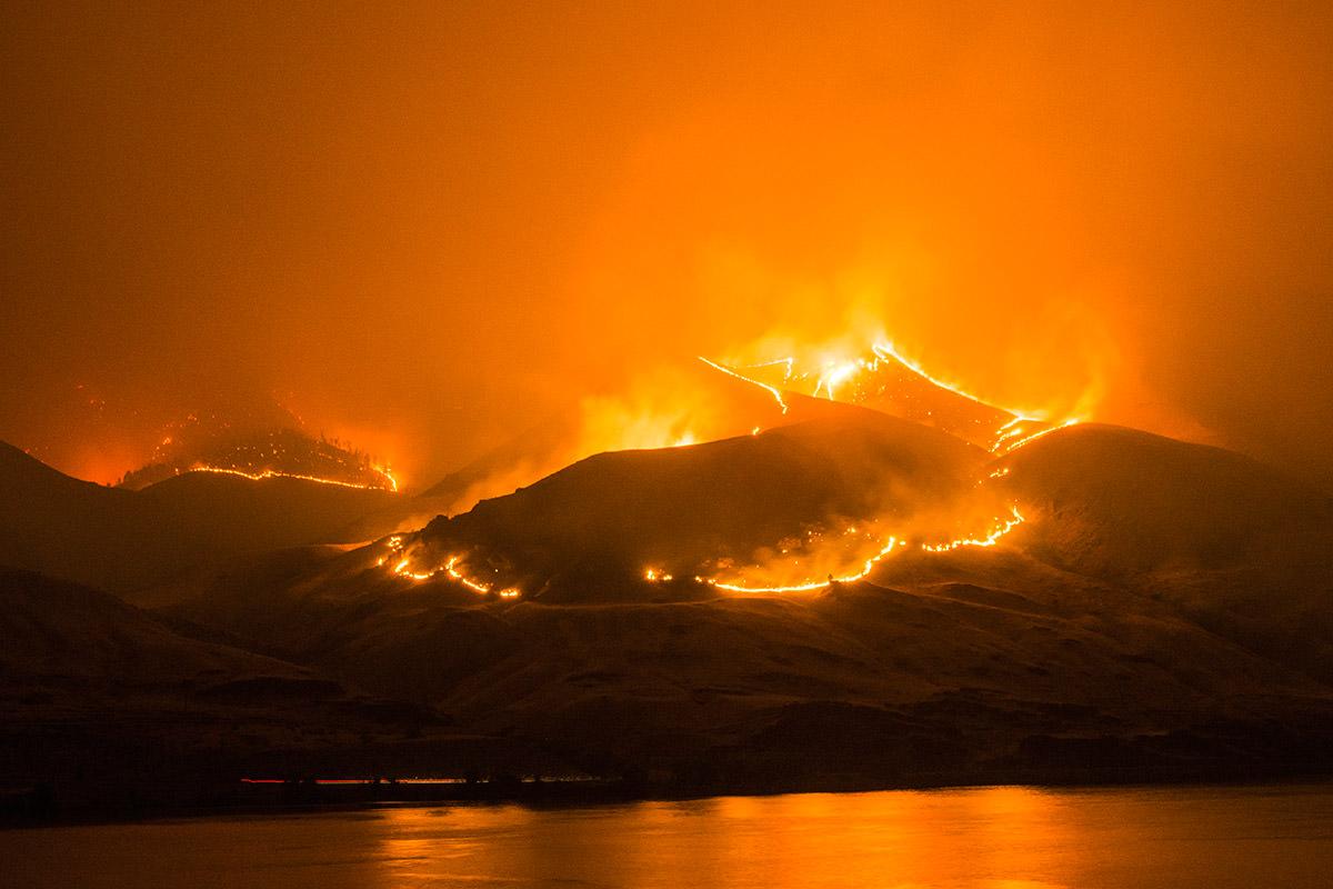 Frank Cone Fire Photo