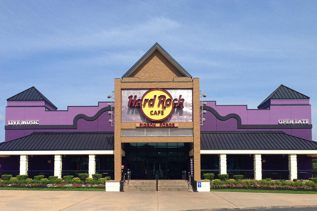 Hard Rock Cafe Pigeon Forge Tn