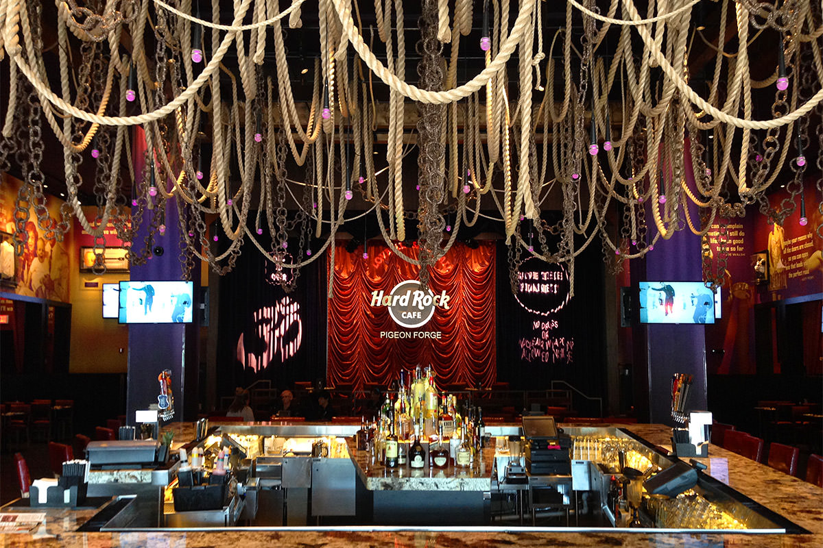 Hard Rock Cafe Pigeon Forge