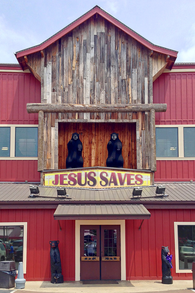 Jesus Saves Incredible Bargains!