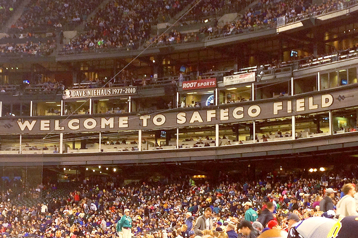 Mariners at Safeco Field