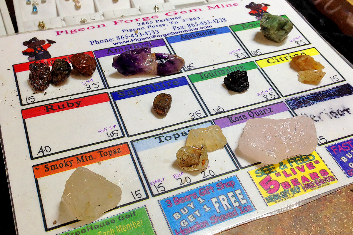 Mine Your Own Gemstones