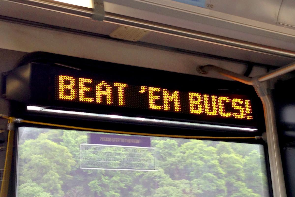 Beat 'em Bucs!