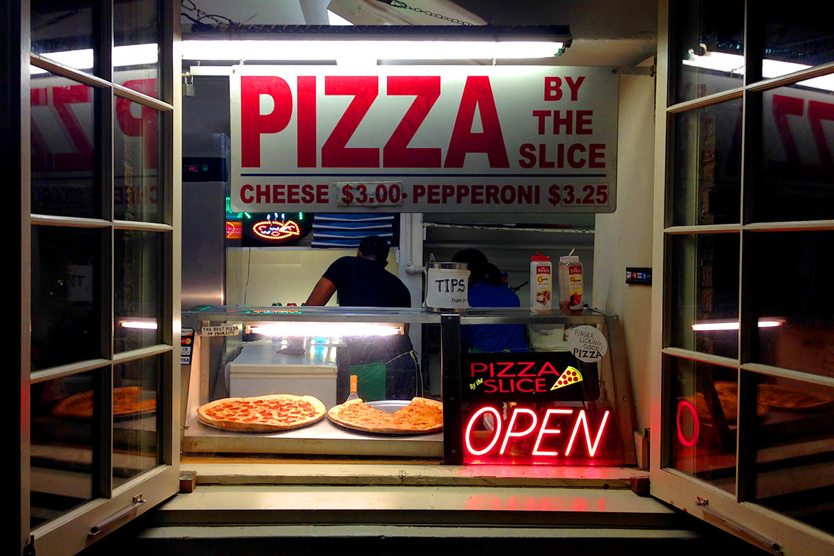 Ybor City Pizza Window